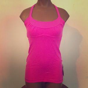 Lululemon Scoop Me Up Tank Lulu Size 4 Hot Pink